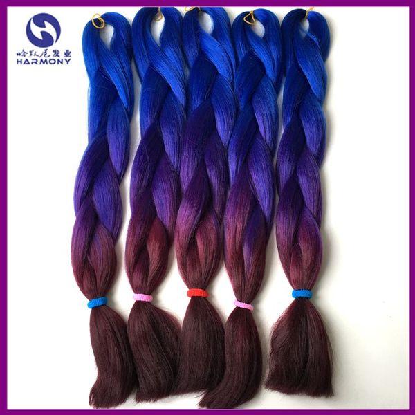 Dark blue +purple + bur
