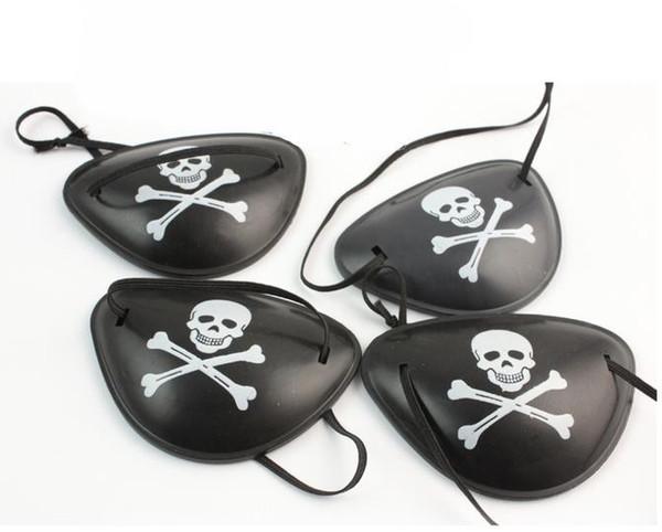 pirate eye patch 100pcs Halloween masquerade pirate accessories Cyclops eye patch