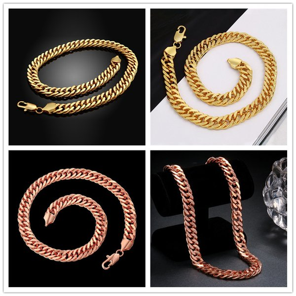 Free shipping hot sale 24k 18k rose gold yellow gold B14M sideways necklace jewelry GN839 brand new fashion gemstone necklace christmas gift