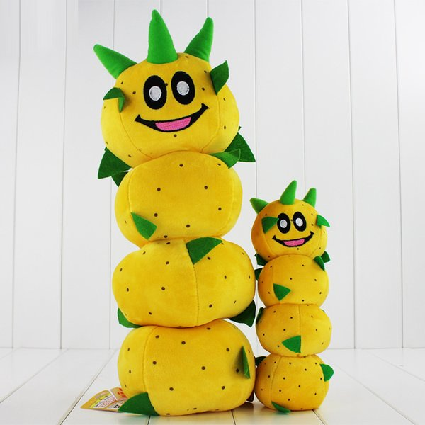 New Arrival Super Mario Bros Caterpillar Pokey Sanbo Cactus Plush Doll Toy 23-40cm 2 Styles you can chooseHigh Quality Free Shipping