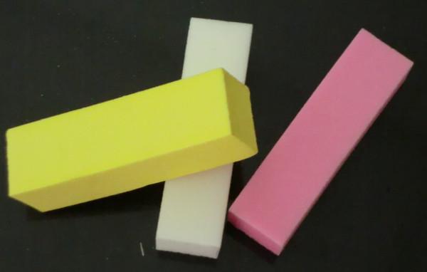 100Pcs Nail Buffers Mixed Color Nail Buffer Sanding Files Nail Art Manicure Nail Beauty Art Nail Buffer Block Files Manicure Sanding Tool