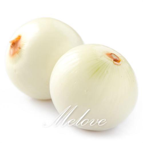 White Onion Vegetable 100 Seeds Non-GMO Easy-to-grow DIY Home Garden Yummy Vegetable for Salad and Cooking