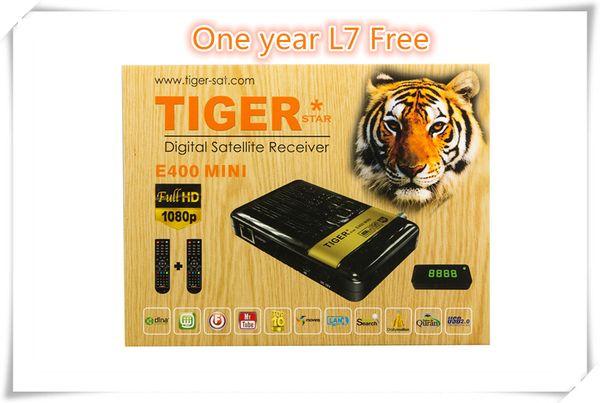 Cheap Original Tiger E400 Mini Plus Hd Iptv Satellite TV Receiver Dvb S2  Arabic Iptv Box Support Royal Iptv Power Vu Projectors For Home Wireless
