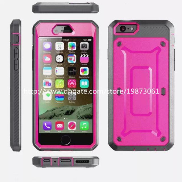For iphone 6 Arm Hybrid Hard Case Cover Clip Holster Kickstand Combo stand Cell Phone for iphone 6 case Samsung Galaxy S6 50Pcs