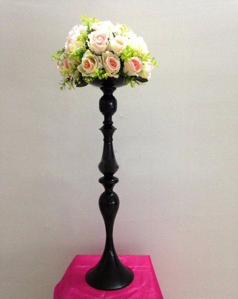 Wedding Flower Vase Table Centerpiece Party Supply black candle holder 2 pcs/lot
