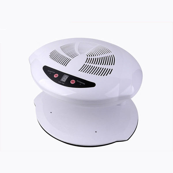 best selling Hot & Cold Air Nail Dryer Manicure for Dry Nail Polish 3 Colors 220V EU 110V US Plug UV Polish Nail Dryer Fan