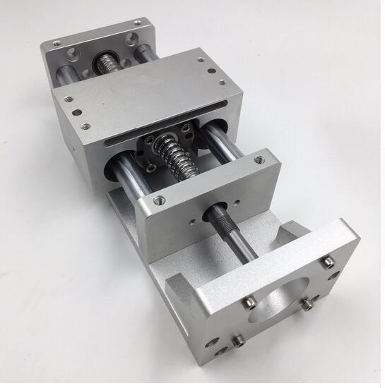 2019 Electric Sliding Table Linear Stage L100mm Ballscrew SFU1605 Cross  Slide Linear Guides Working Table With Stepper Motor Base From Myroselife,