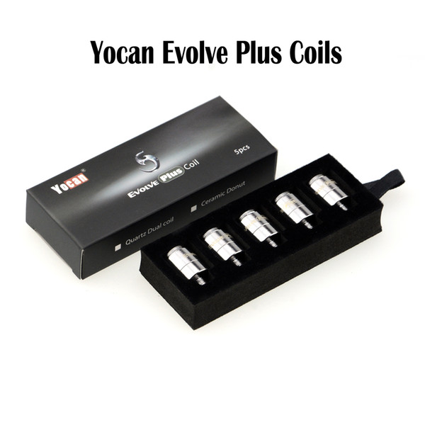 Authentic Yocan Evolve Plus Coils Yocan Coils Evolve QDC Coils E Cigarettes Replacement Coil Yocan Evolve