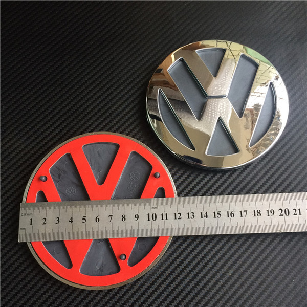 Good Quality 120mm Chrome Abs Car Rear Badge Sticker