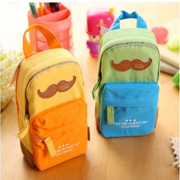 Yeni Gelmesi Kırtasiye büyük kapasiteli kalem çanta durumda okul çantası desen Sevimli saklama kutusu öğrenci hediye ödül