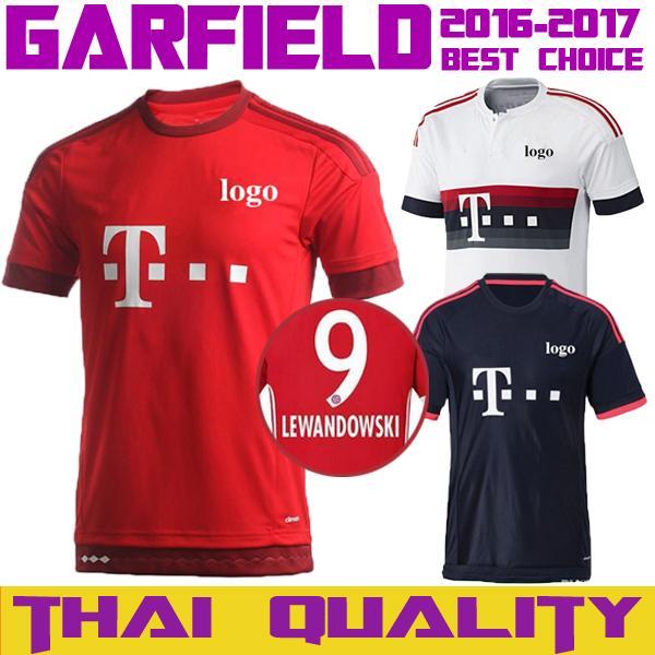 watch d5a36 fa22f 2019 2016 2017 Bayern Munich 3RD Home Away Jerseys 16 17 VIDAL COATA  LEWANDOWSKI MULLER ROBBEN GOTZE BOATENG ALABA Jersey From Ac_sports3, $9.14    ...