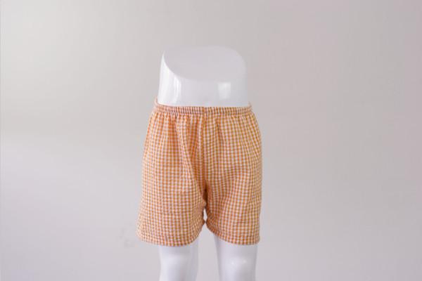 2017 boy shorts großhandel baby kleidung neue kommende mode baby jungen seersucker shorts