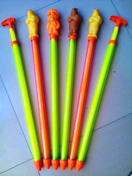 Withdrawing cannon long square swimming rafting water gun children's toys barrel gun barrel
