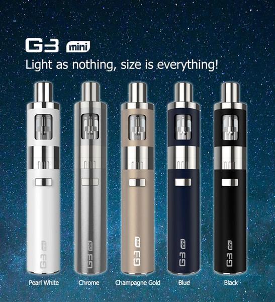 Wholesale-Original LSS G3 mini kit 900mah 1 ohm GS battery electronic cigarette vapor pen portable similar to EGO One 0.5ohm 1ohm Kit