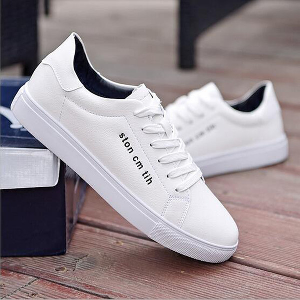 Cheapest Casual Sneakers Low Breathable Running Shoes Men Women Running Sports White Black Plate Shoes Size 39-44 Free Shipping