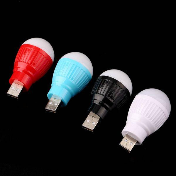 Toptan-Taşınabilir Mini USB LED Işık Lamba Ampul Bilgisayar Dizüstü PC Masası Okuma Sıcak Yeni