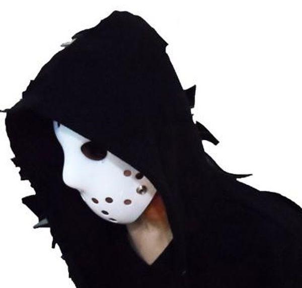 2019 parti maskeleri 100g tam yüz Beyaz festivali cadılar bayramı maskesi için Jason maskesi Hokey pvc maske H55
