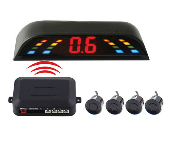 Venta PZ303-W PZ300-W LED Sensor de estacionamiento inalámbrico Cámara para automóvil Sensor de estacionamiento inalámbrico LED digital Sensor de estacionamiento inalámbrico 433MHZ Epacket gratuito