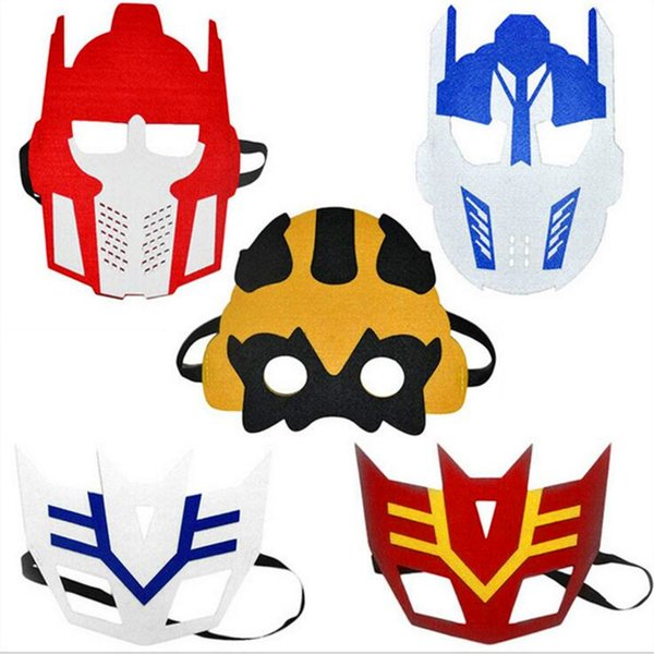 103 Designs Halloween Cosplay Mask 2 Layer Cartoon Felt Masks Eye Shade Costume Party Masquerade Eye Mask Children Students Performance Mask