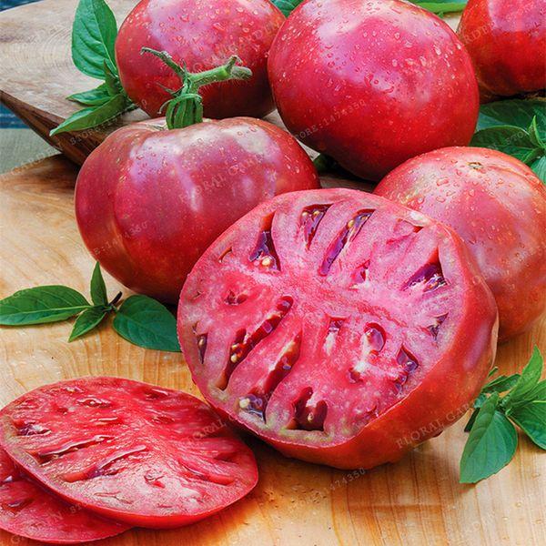 100pcs Lycopersicon Esculentum Tomato Seeds Rare Tomato Seeds Bonsai Organic Vegetable& Fruit Seeds Potted Plant For Home&Garden