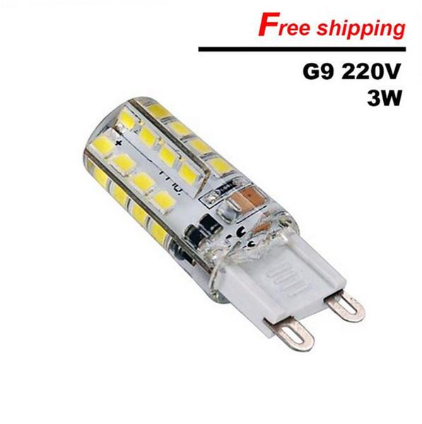 G9 3W 2835 32 SMD LED Corn Energy Saving Bulbs Light For Crystal Lamp 220-240V 110-120V LED Bulb Spotlight For Chandelie