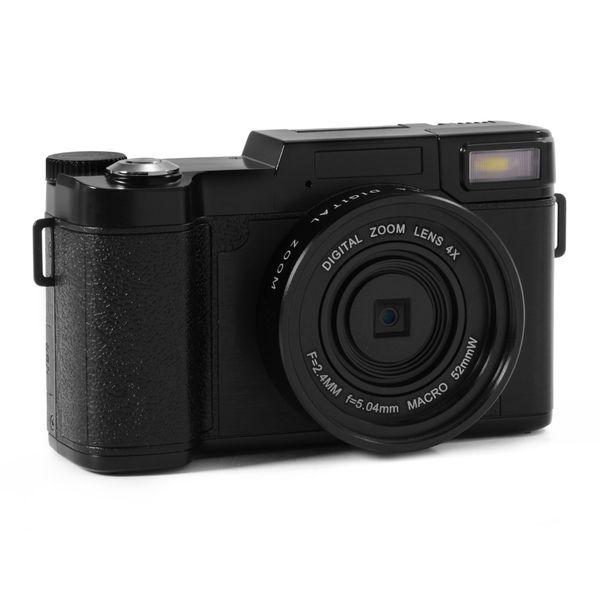 10pcs -2017 new 24MP HD Half-DSLR Professional Digital Cameras with 4x Telephoto,Fisheye & Wide Angle Lens Camera Macro HD Camera
