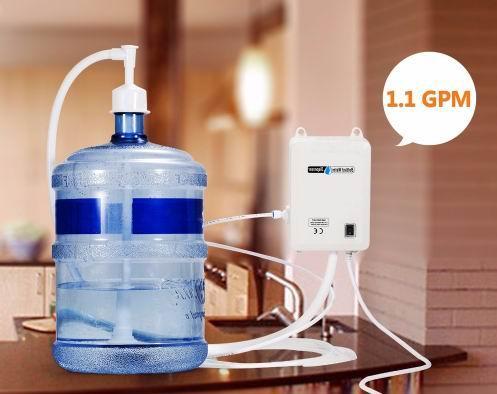 Brand New 100-130V AC Bottled Water Dispensing Pump System Replaces Bunn Flojet Excellent Bottled Water Pump