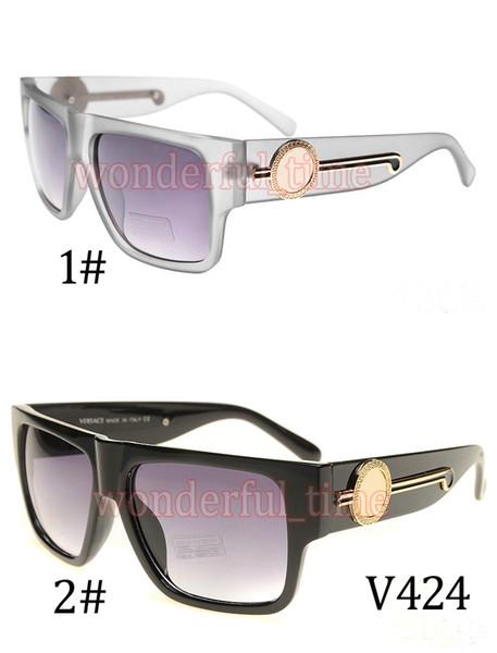 Moq = 10pcs Clásicos de la moda unisex simple rana Vintage gafas de sol UV400 conducción playa ciclismo gafas de sol al aire libre 2 Color envío gratis
