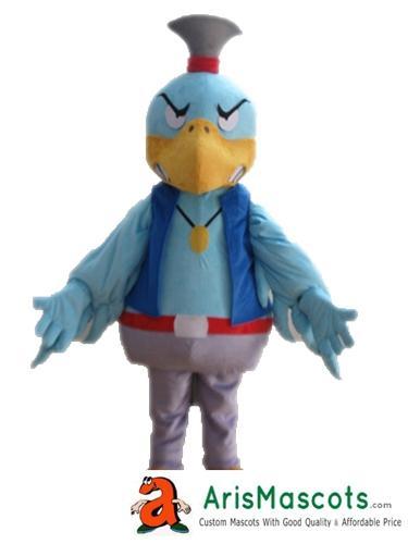 Взрослый размер синий Ястреб костюм талисмана птицы талисманы смешные костюмы талисмана для продажи пользовательские талисманы дизайн в arismascots deguisement mascotte