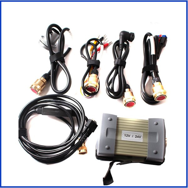 2017 MB STAR C3 OBD2 Scanner MB STAR C3 12V/24V for Mercedes Benz car / truck diagnostic tool without HDD DHl Free Shipping