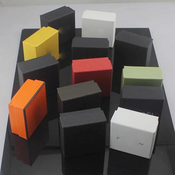Marca famosa marca de joyería caja cuadrada 7 * 7 * 3.5 cm envío gratis PS4428