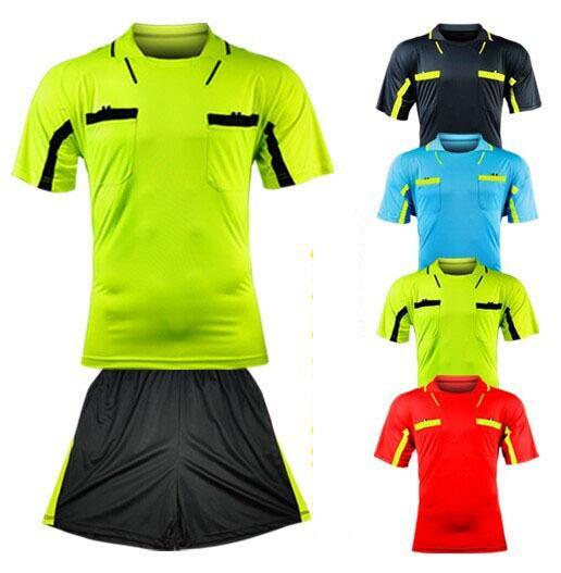 Benwon- Fair Play professionelle Fußball Schiedsrichter Trikots Sport Kleidung Anzug Sets Fußball Schiedsrichter Kits de Futbol Richter T-Shirts