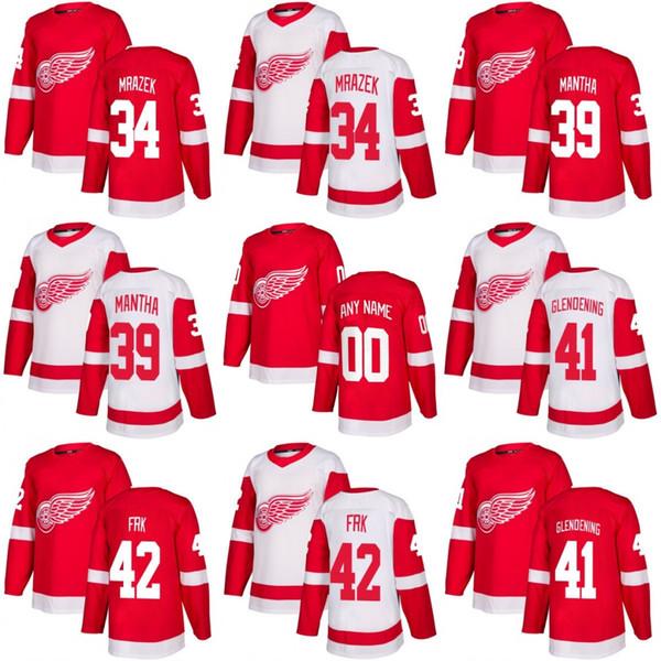 men Youth Women 2018 Detroit Red Wings 34 Petr Mrazek 39 Anthony Mantha 41  Luke Glendening 06dd615e2