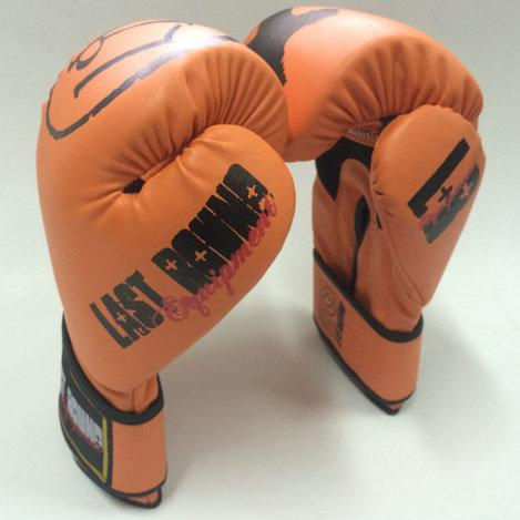 Last round boxing glove 12OZ size free combat fitness mitten Professional Muay Thai sport protective gear