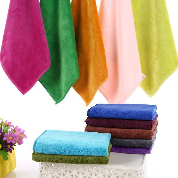 1PCS Microfibre Cleaning Auto Car Detailing Soft Cloths Wash Towel Duster household cleaning tools organization gift