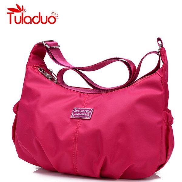 Wholesale Women Crossbody Hobos Bag Ladies Nylon Handbag Travel ...
