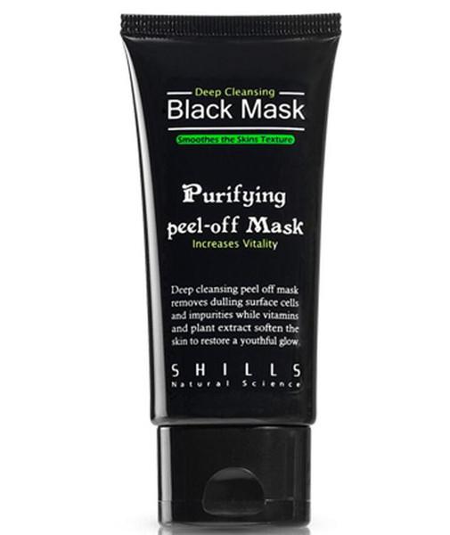 300pcs SHILLS Black MASK Deep Cleansing/ purifying peel-off mask / Clean Blackhead facial mask 50ML Free Shipping
