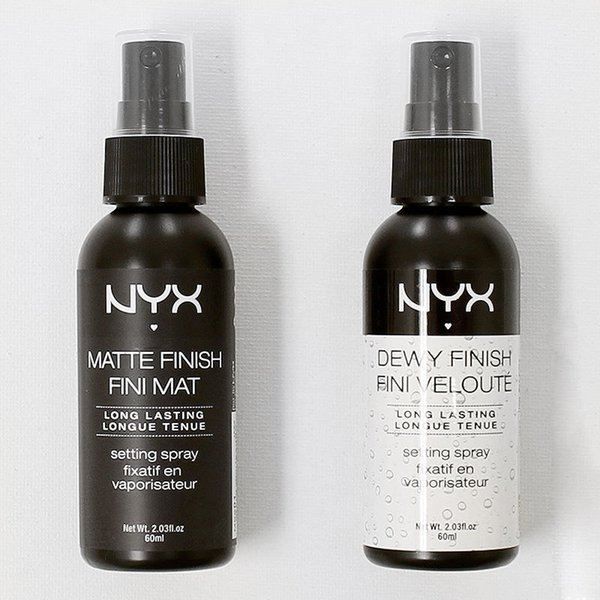 best selling NYX Dewy Finish Matte Finish Makeup Setting Spray Long lasting Setting Spray 60ML Face Beauty DHL Free