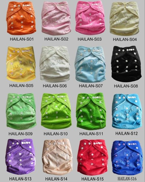 Free Shipping Waterproof Baby Cloth Diapers Training Pants Boy Girl Shorts Underwear Nappies Panties Minky Solid Cloth Diaper