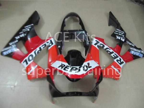 3 brindes kit de Carenagem Da Motocicleta Para HONDA CBR900RR 00 01 CBR 900RR 929 2000 2001 ABS conjunto de Carenagens Vermelho Preto Branco AF1