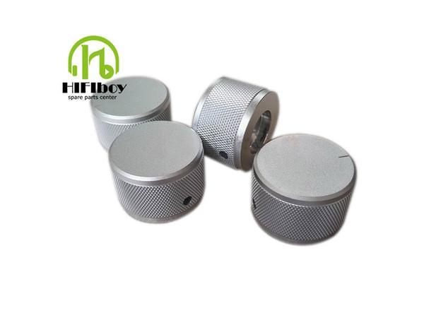 HIFI audio amp Aluminum Volume knob 10pcs Diameter 38mm Height 25mm amplifier knob speaker knob