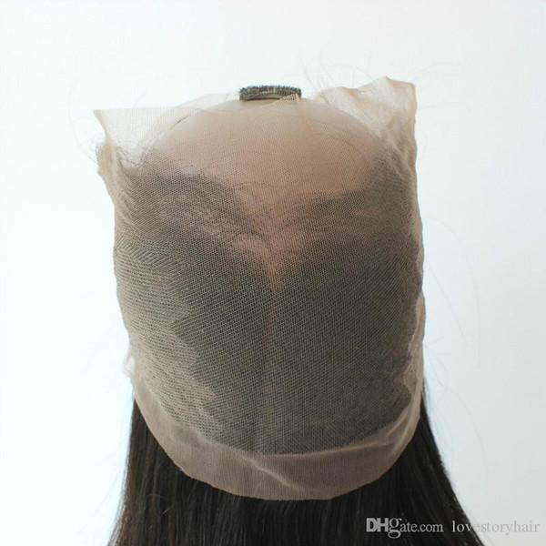 Beste Qualität 360 Spitze Frontal mit Haar Bundles gerade brasilianisches peruanisches indisches malaysisches Jungfrau-Menschenhaar spinnt Schließung natürliches Schwarzes