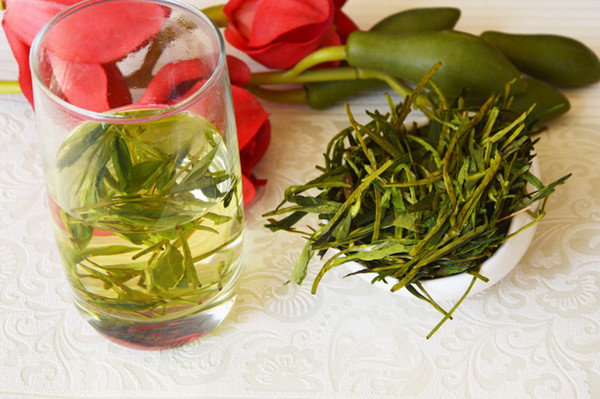 mcgretea]good 2019 new handmade dragon well organic green tea, good quality mingqian west lake longjing tea leaves 200g gift ing