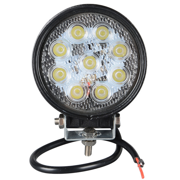1pcs 4 Inch 27W LED Work Light for Indicators Motorcycle Driving Offroad Boat Car Tractor Truck 4x4 SUV ATV 12V