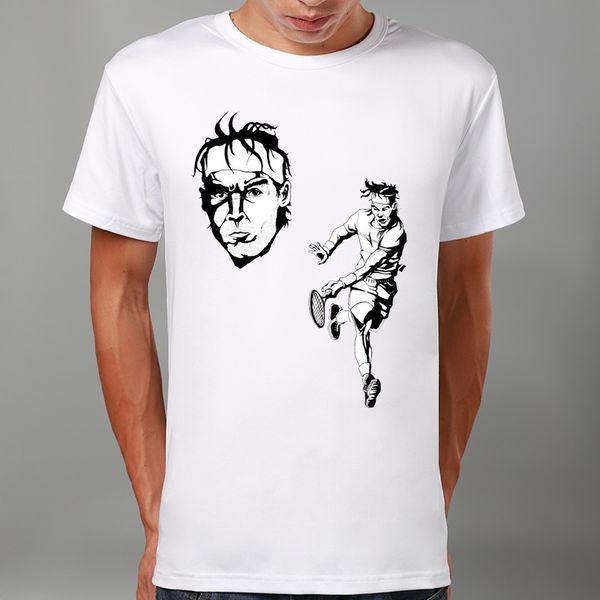 Wholesale Men Fashion Rafael Nadal Sports Art Print Summer T Shirt ...