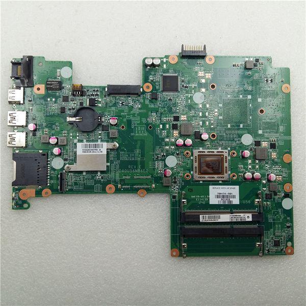 A6-4455M DA0U56MB6E0 709174-501 Für HP Pavilion 15 Laptop-Motherboard der Serie 15-B mit integrierter getesteter Grafikkarte