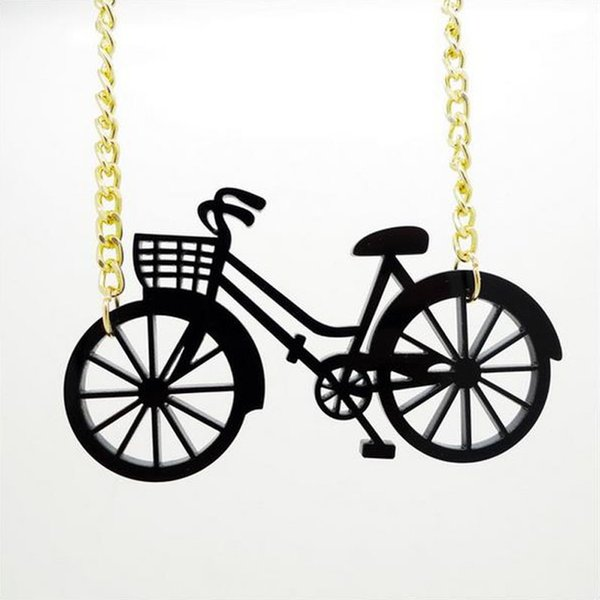 2017 new Necklace wholesale popular bicycle bike travel hip hop accessories necklace direct wholesale free shipping