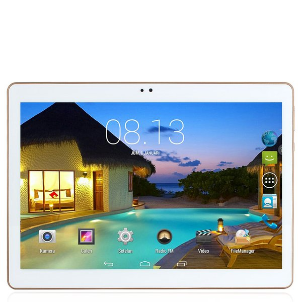 Wholesale- New 4G LTE tablet PC 10.1 INCH ips 1280x800 Android 5.1 phone call MTK6735 2GB/16GB Quad Core 2MP+5MP GPS Bluetooth FM Wifi