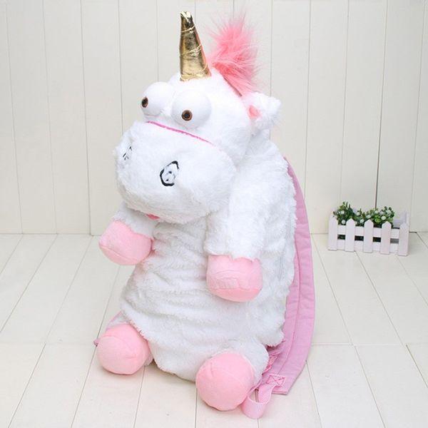Plush Unicorns Children Backpacks Kindergarten Bitherday Gifts For Girls and Boys Cute Plush toys Bags Kids Backpack Animal