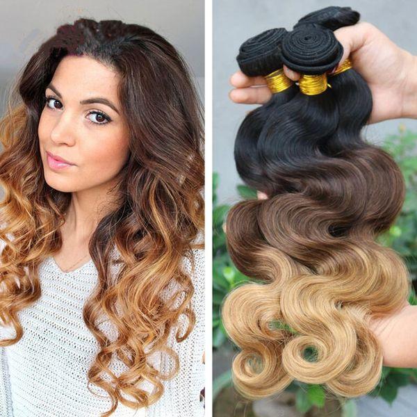 8a Grade Brazilian Ombre Hair Extensions 1b427 Ombre Human Hair